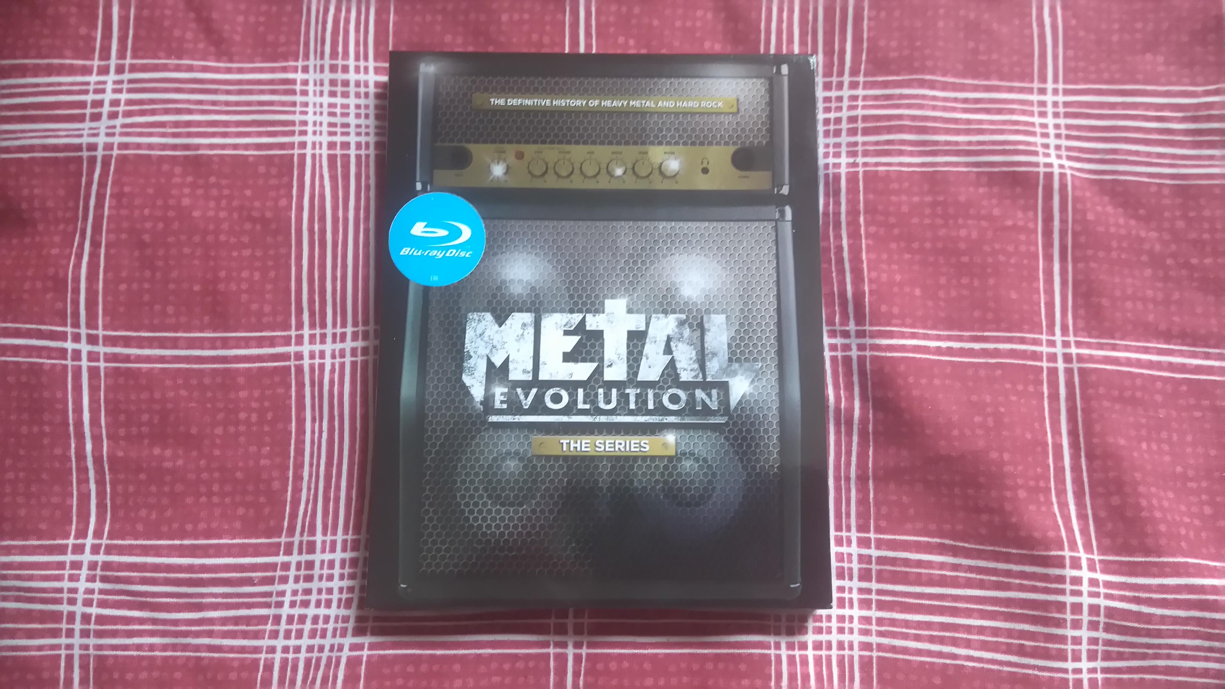 Metal Evolution Blu
